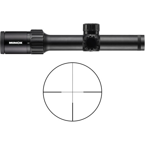 Minox 1-5x24 ZX5i Riflescope (German #4 Reticle)