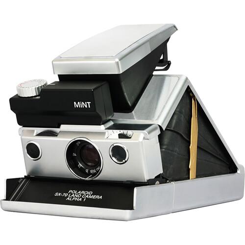 Mint Camera SLR670-X Ming Edition Instant Film Camera (Silver)