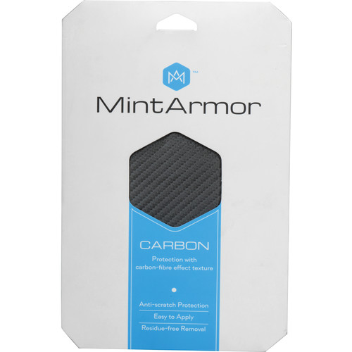 MintArmor Carbon Camera Covering Material (Anthracite)