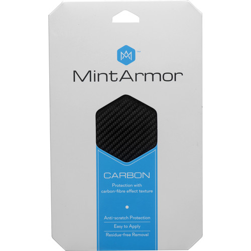 MintArmor Carbon Camera Covering Material (Black)