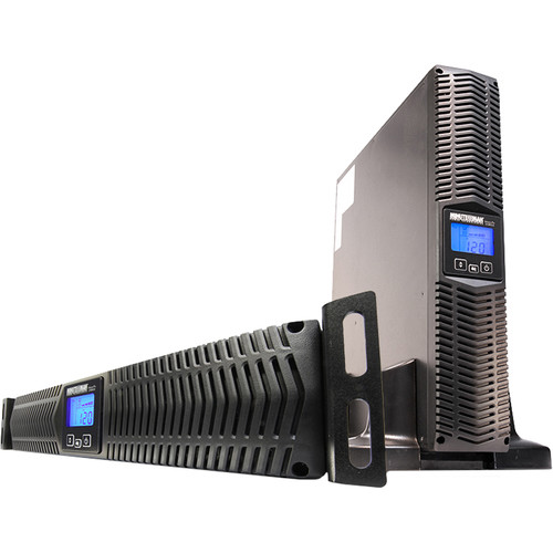 Minuteman UPS AVR 2kVA/1760W 2U Rack/Wall/Tower EXT. Runtime LCD with SNMP
