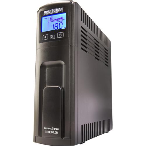 Minuteman Entrust LCD 1500VA 900W 10-Outlet UPS