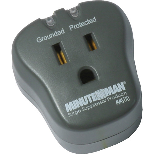 Minuteman Single-Outlet Surge Protector