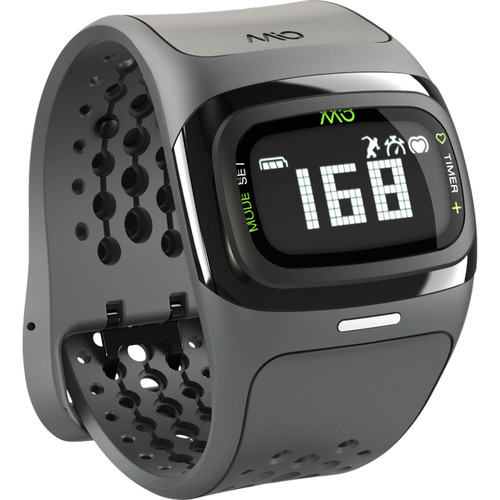 Mio Global ALPHA 2 Heart Rate Sport Watch (Black Trim)