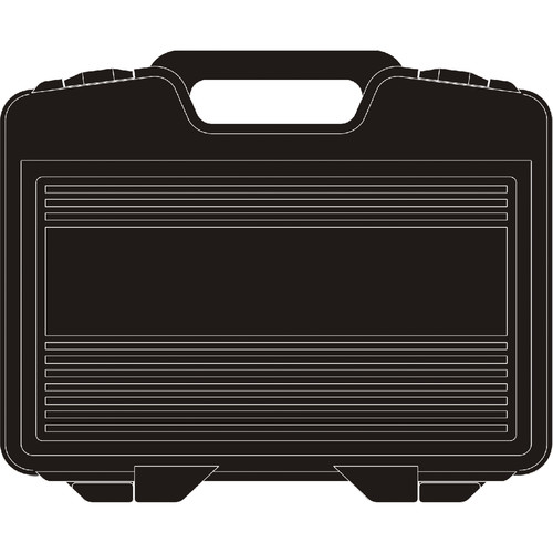 MIPRO Plastic Carry Case for Single Half-Rack System