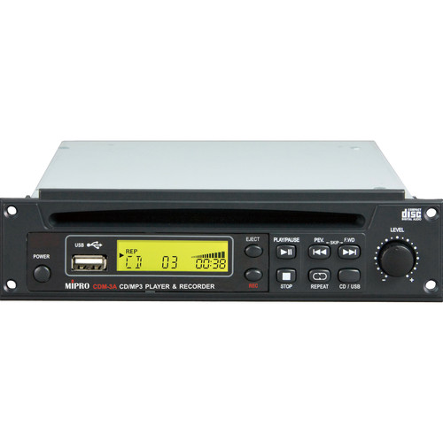 MIPRO CD/USB Player & Recorder Module with Remote Control for MA-505/705/708/808 PA System