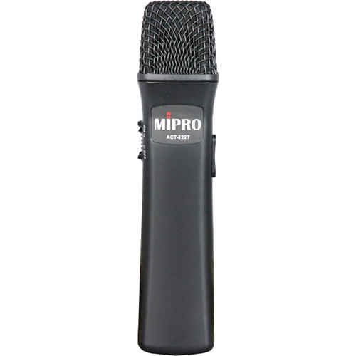 MIPRO Rechargeable Handheld Transmitter for MA-202 Wireless PA System (6A Band: 620-644 MHz)