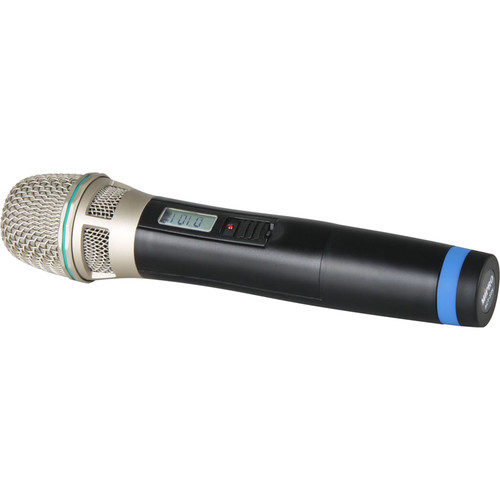 MIPRO Cardioid Condenser Handheld Transmitter Microphone with LCD (6B Band: 644-668 MHz)