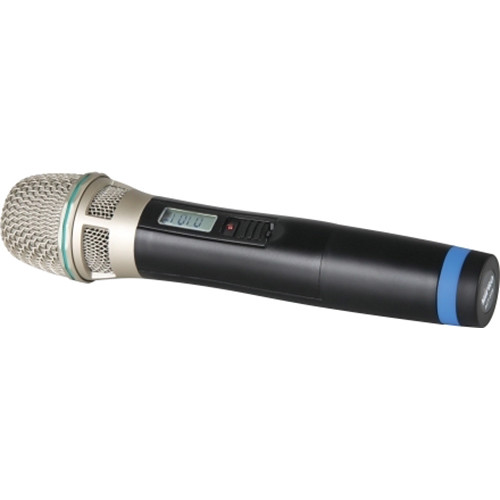 MIPRO Cardioid Condenser Handheld Transmitter Microphone with LCD & Remote Control Function (5NC Band: 542-566 MHz)