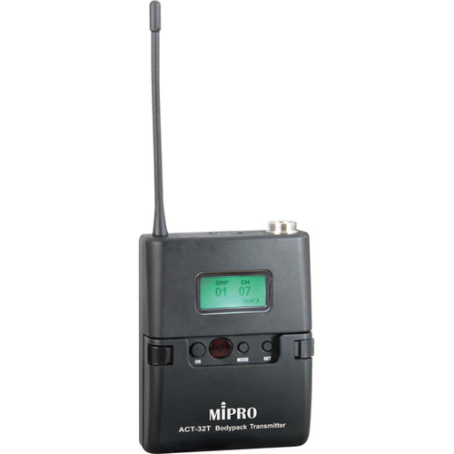 MIPRO Miniature Bodypack Wireless Transmitter (6C Band: 668 to 692 MHz)