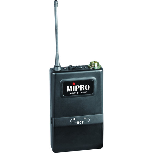 MIPRO ACT-3T Bodypack Transmitter with mini-XLR connector (Frequency 6A)