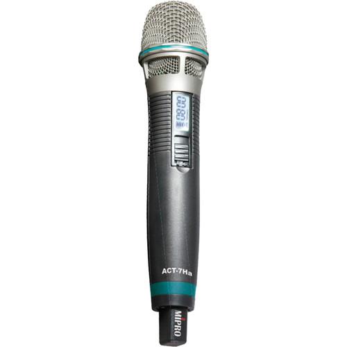 MIPRO Wideband Cardioid Condenser Handheld Transmitter Microphone (662-698 MHz)