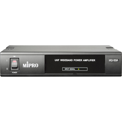 MIPRO AD-90A UHF Wideband High-Power Antenna Amplifier for Select Transmitters and AD-90S UHF Power Splitter