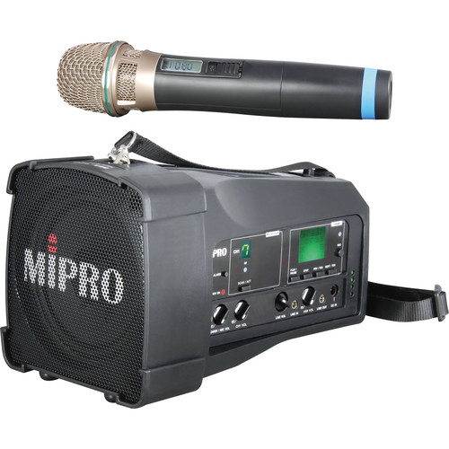 MIPRO MA100SU6C System with ACT30H6C Handheld Transmitter (Frequency 6C)