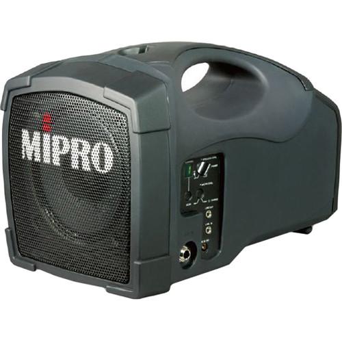 MIPRO MA-101B Single-Channel Personal Wireless PA System (5A, Grayish Black)