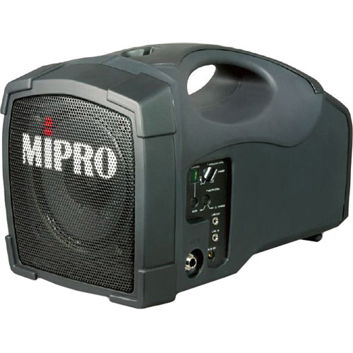 MIPRO MA-101B Single-Channel Personal Wireless PA System (6B, Grayish Black)