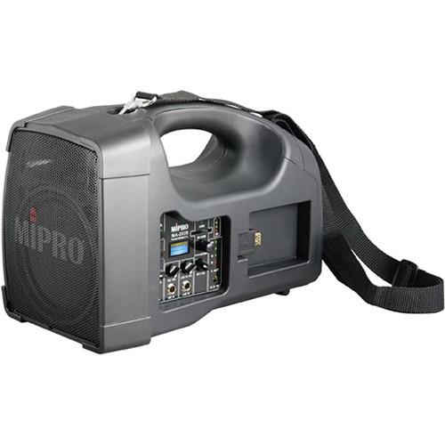 MIPRO MA-202B Single-Channel Personal Wireless PA System (5NC, Black)