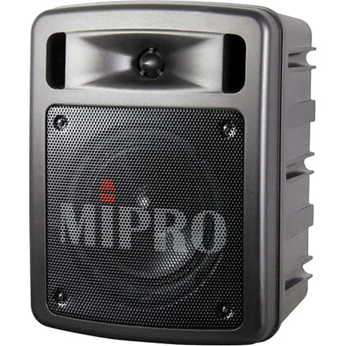 MIPRO MA-303su Single-Channel Portable Rechargeable Wireless PA System (60W, 6A: 620 to 644 MHz)