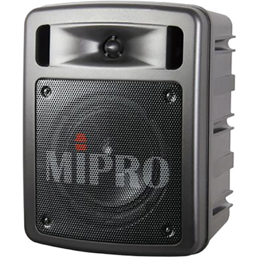 MIPRO MA-303DB Dual-Channel Portable Wireless PA System (668 to 692 MHz, Black)