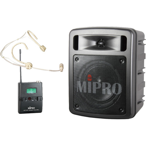 MIPRO MA303SU6C System with ACT-30T6C Bodypack Transmitter and MU-53HNS Headworn Microphone (Frequency 6C)
