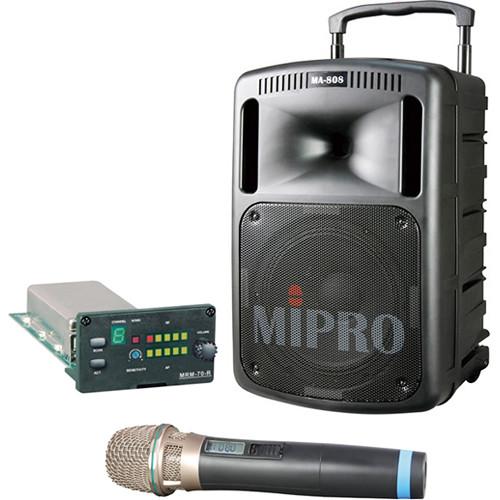 MIPRO MA-808V Portable Sound & Transmission System Kit (Frequency A)