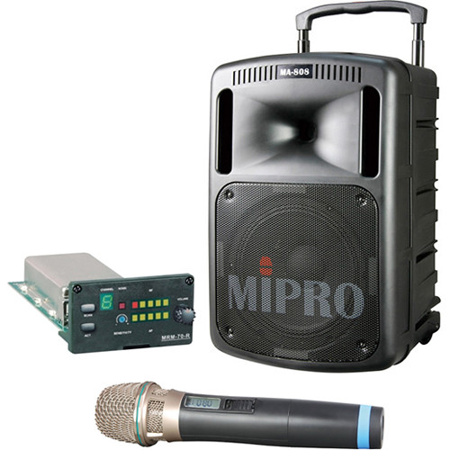 MIPRO MA-808V Portable Sound & Transmission System Kit (Frequency C)