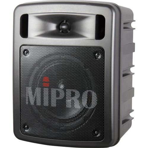 MIPRO MA-303BSUH Wireless Portable Bluetooth PA System (5A Band, Single-Channel, Black)