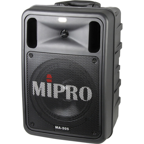 MIPRO MA-505PAB Portable Bluetooth-Enabled Wireless PA System (5A, Black)