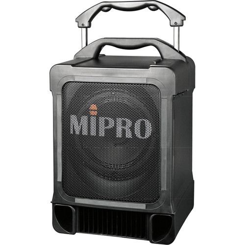 MIPRO MA-707PADM Portable Wireless PA System with CD/MP3 Player and Wireless Microphone Receiver Modules (Black, 506 to 530MHz)