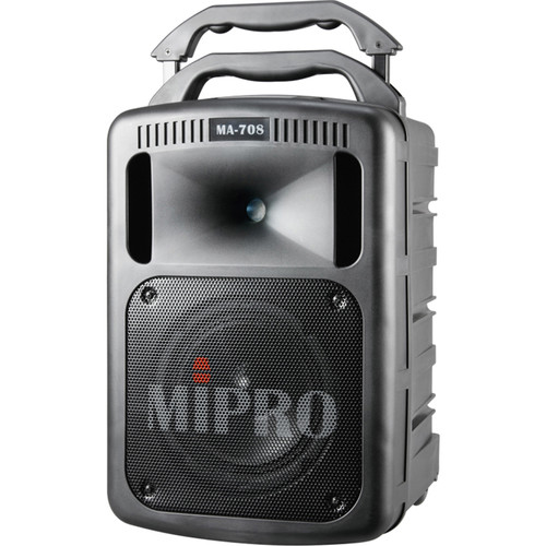 MIPRO MA-708PADBH-5A 190W Bluetooth Portable PA System with CD Player and Wireless Handheld Mic (5A: 506 to 530 MHz)
