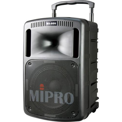 MIPRO MA-808 Portable Sound System (Black)