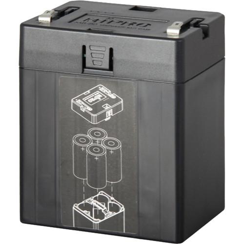 MIPRO Case for Four 12V Lithium Iron Phosphate Batteries