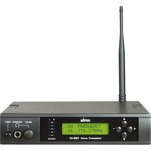 MIPRO 16-Channel UHF Stereo Transmitter (Frequency 6C, Metal Casing)