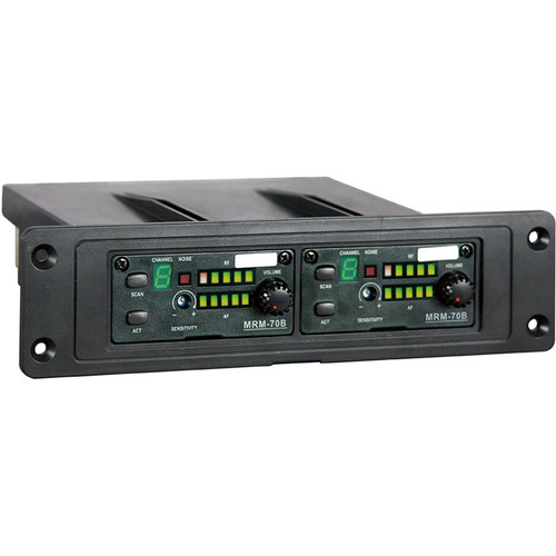 MIPRO Plug-In Dual 16-Channel Diversity Receiver Module (6A Band: 620-644 MHz)