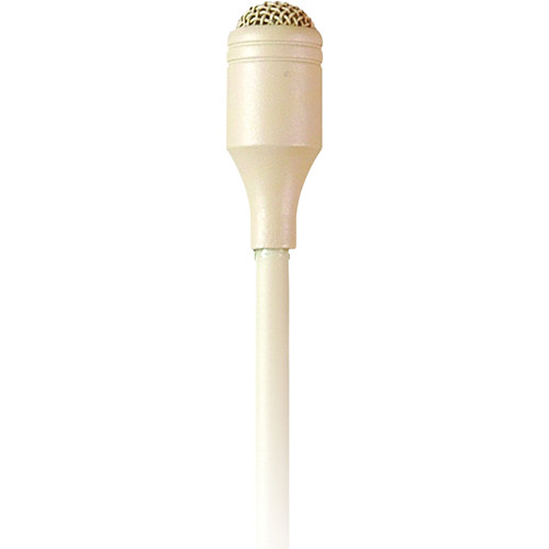MIPRO MU-55LS Omnidirectional Sub-Miniature 4.5mm Lavalier Microphone (Beige)