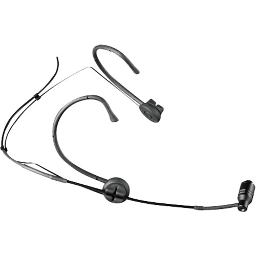 MIPRO MU-53HN Unidirectional Cardioid Headworn Microphone (Black, TA4F)
