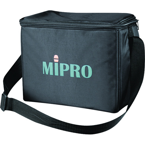 MIPRO SC-10 Storage and Carry Bag for Wireless PA System (Black)