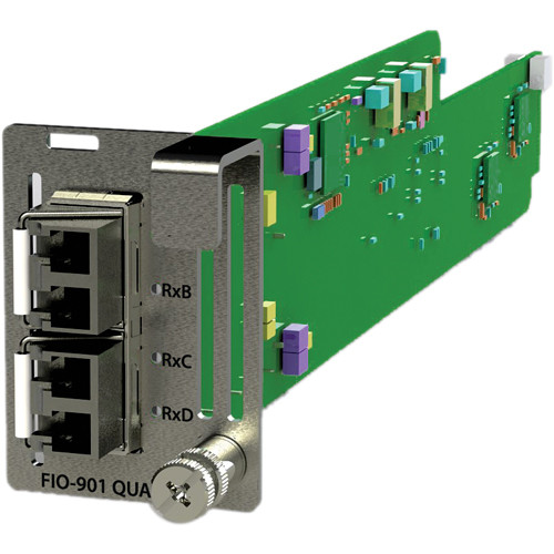 Miranda LUMO Quad 3Gb/s / HD / SD 1310nm Optical Transmitter Card