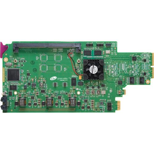 Miranda 3G/HD/SD Frame Synchronizer Card with Embedded Audio Processor