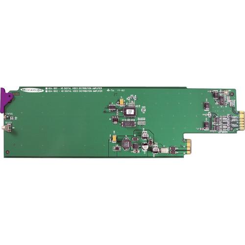 Miranda HDA-1861-3RU Reclocked HD / SD / ASI Distribution Amplifier with EQ
