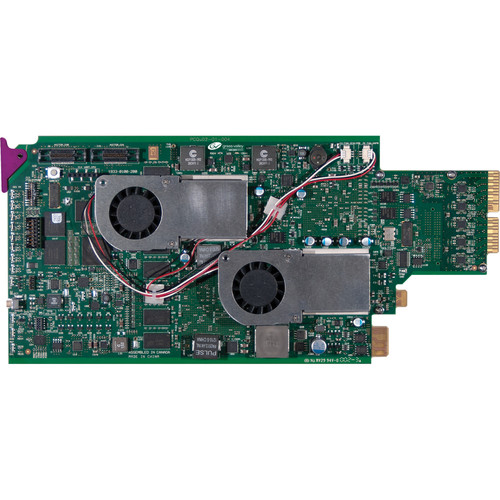 Grass Valley Triple Rear Connector Panel for KMX-3901 Input Card