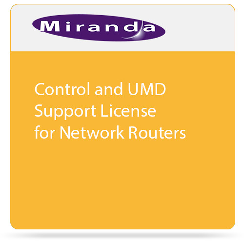 Miranda Control and UMD Support License for Network Routers