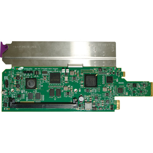 Grass Valley Single Rear Connector Panel with Fiber Connection for SME-1901 (1x4 DA Operation Mode)