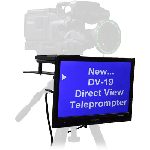 """Mirror Image Direct View LCD Prompter with Software (19"""")"""