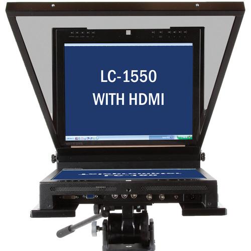 "Mirror Image LC-1550 HDMI Series Mid-Bright Teleprompter (15"")"