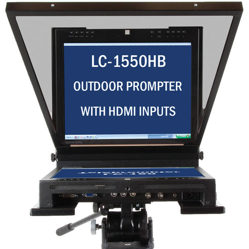 """Mirror Image LC-1550HB HDMI Series High-Bright Teleprompter (15"""")"""