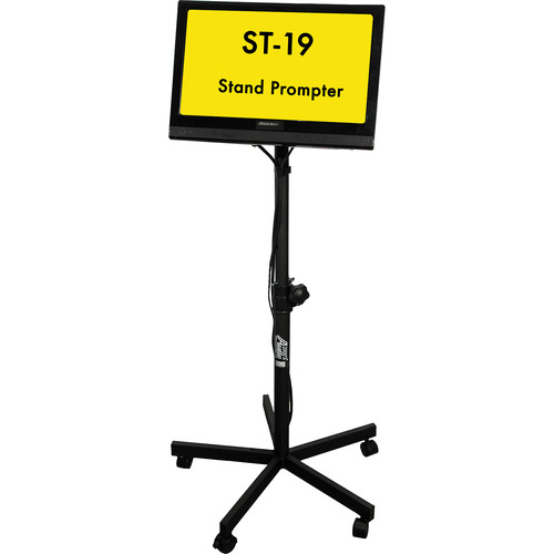 """Mirror Image Stand Prompter with 19"""" HD Monitor"""