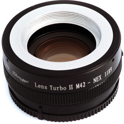 Mitakon Zhongyi M42 Lens to Sony E-Mount Camera Lens Turbo Adapter Mark II