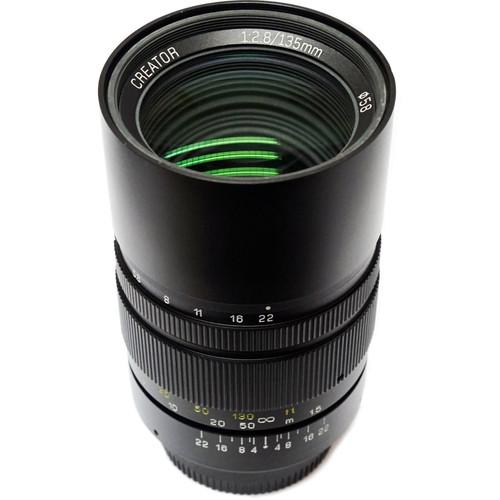 Mitakon Zhongyi Creator 135mm f/2.8 Mark II Lens for Pentax K