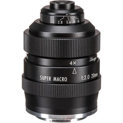 Mitakon Zhongyi 20mm f/2 4.5x Super Macro Lens for Canon EF-M